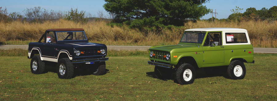 Custom Built Ford Broncos. Contact us today.