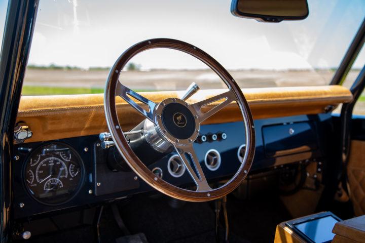 4 Door Ford Bronco Steering Wheel